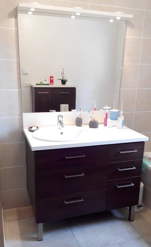 Meuble de salle de bains sur mesure 69570 Dardilly