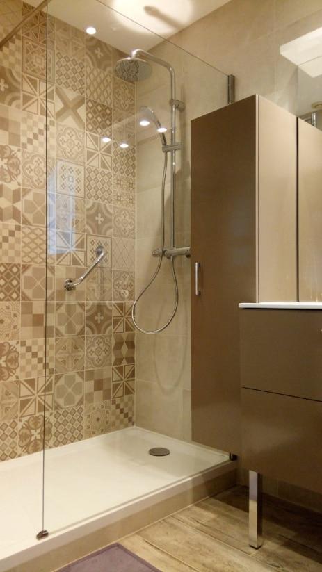 Salle de bains plombier Dommartin