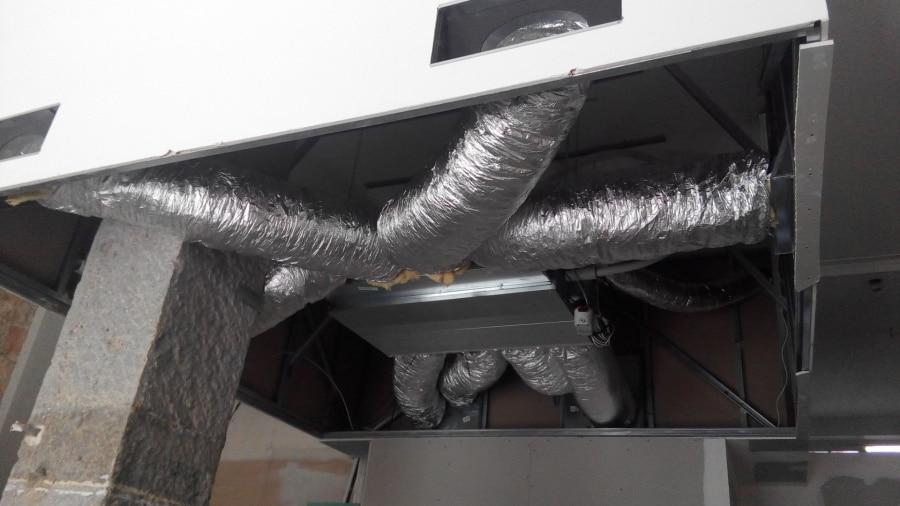 Climatisation de Magasin par gaine intégrée à Atelier Lavarenne, Fleuriste Lyon 69006