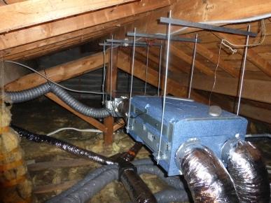Installation VMC double flux Fleurieux sur l'Arbresle 69210