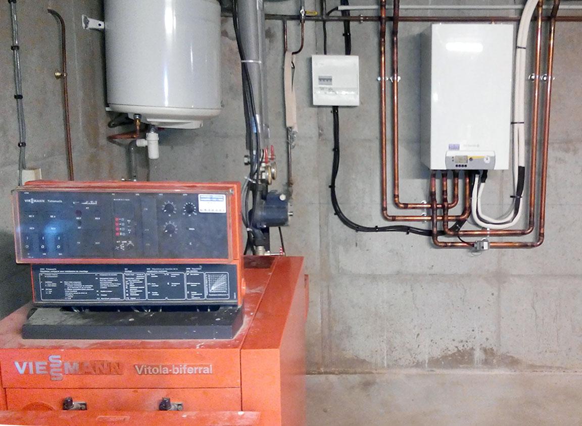Pompe à chaleur de relève fioul SAINTE-CONSORCE 69280
