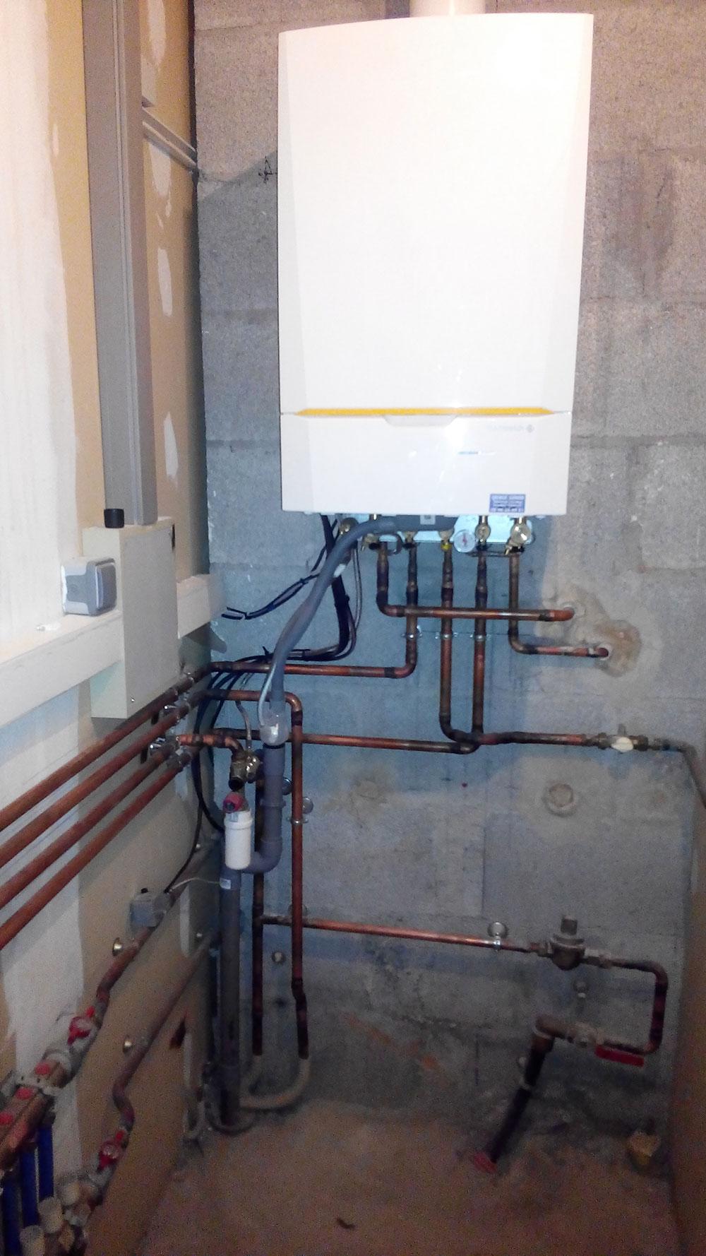 Rénovation chaufferie gaz Morancé