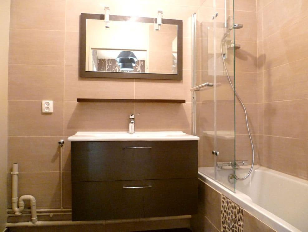 Réalisation salle de bains à Lyon 9e