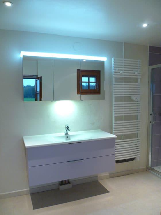 Meuble salle de bains moderne